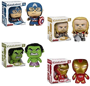 Funko Fabrikations - Soft Sculpture - Avengers Age of Ultron - SET OF 4