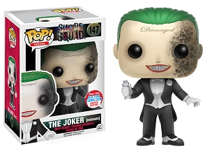 Funko Pop Suiside Squad The Joker Grenade NYCC Exclusive