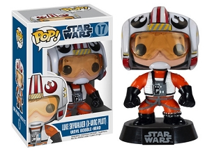 Funko PoP Vinyl Luke Skywalker in Xwing Suit Bobble Head