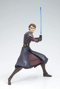 Star Wars ArtFX Anakin Skywalker Clone Wars Statue