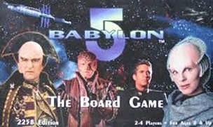 Babylon 5 The Board Game 2258 Core Set