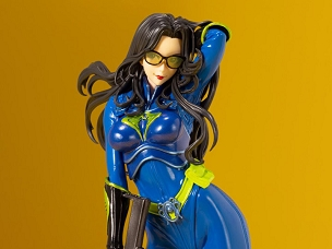 G.I. Joe Bishoujo Baroness (Blue Color) 25th Anniversary Limited Edition