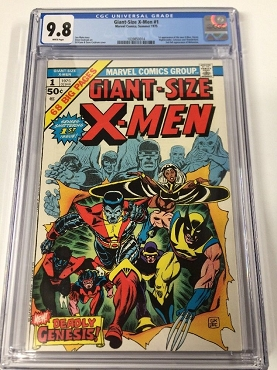 Giant-size X-men 1 CGC 9.8
