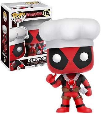 Funko Pop Deadpool Chef NYCC Exclusive