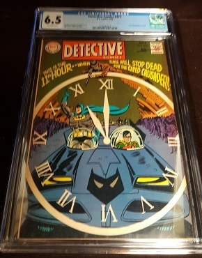 Detective Comics #375 CGC 6.5 Classic TV series Batmobile cover