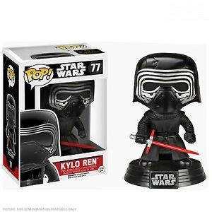 Funko Pop Star Wars Kylo Ren unhooded Target Exclusive