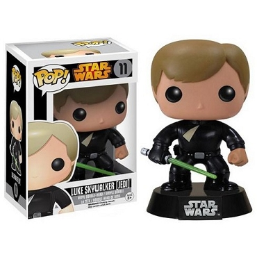Funko Pop Vinyl Star Wars Luke Skywalker Jedi Vault Edition