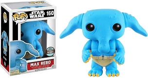 Funko Pop Star Wars Max Rebo Signature Series