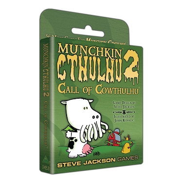 Munchkin Cthulhu 2 Call of the Cowthulhu Expansion Cards
