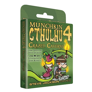 Munchkin Cthulhu 4 Crazed Caverns Expansion Cards