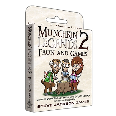 Munchkin Legends 2 Faun and Games Expansion Cards