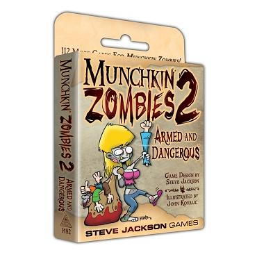 Munchkin Zombies 2 Armed and Dangerous Expansion Cards